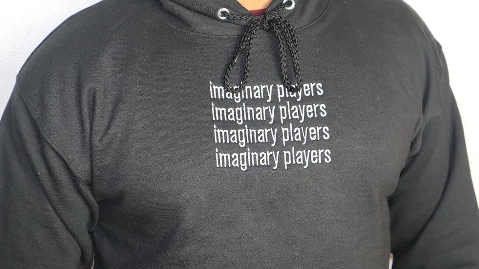 Imaginary Players Black Hoodie