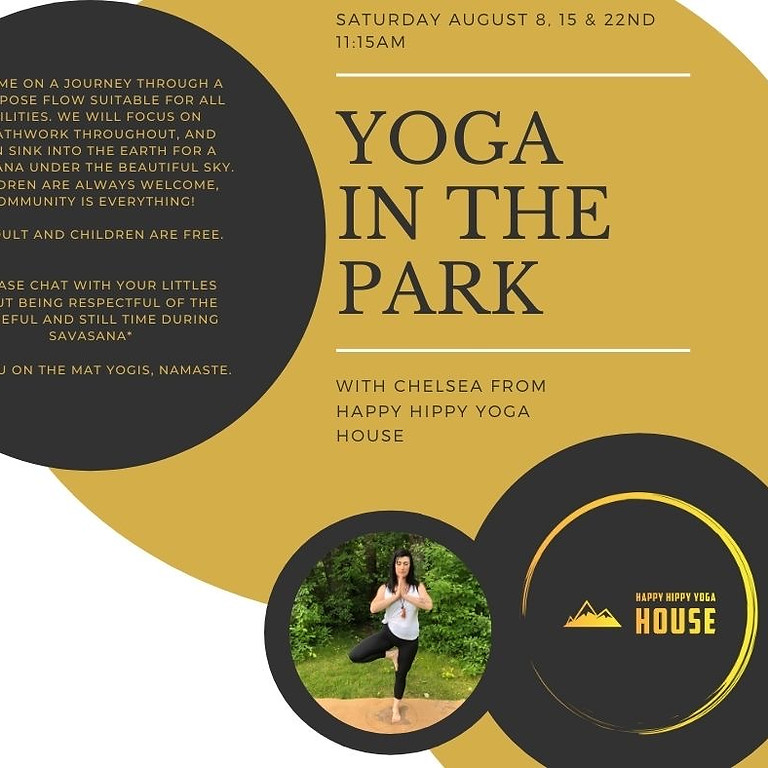 """Yoga in the Park with Chelsea from the """" Happy Hippy Yoga House""""  (2)"""