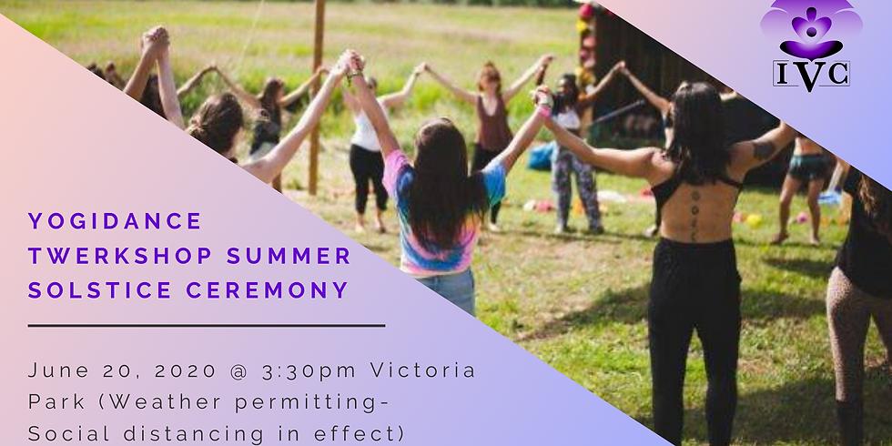YogiDance Twerkshop: Summer Solstice Ceremony