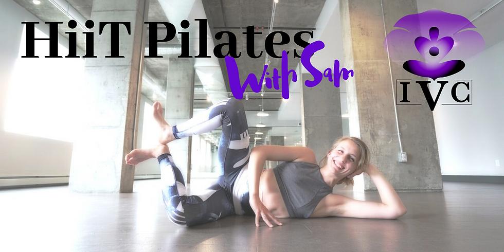 HiiT Pilates Pop Up Class with Sam