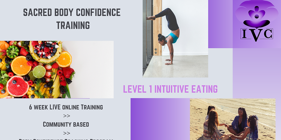 Sacred Body Confidence: Level 1 Intuitive Eating