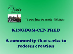 Front of Pew Cards Kingdom Centred