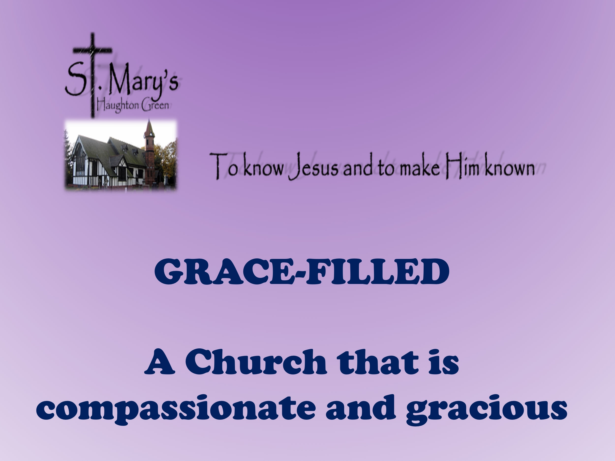 Front of Pew Cards Grace-Filled