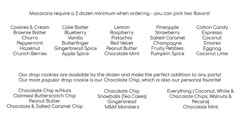 Macaron and Drop Cookie Flavor Menu.png