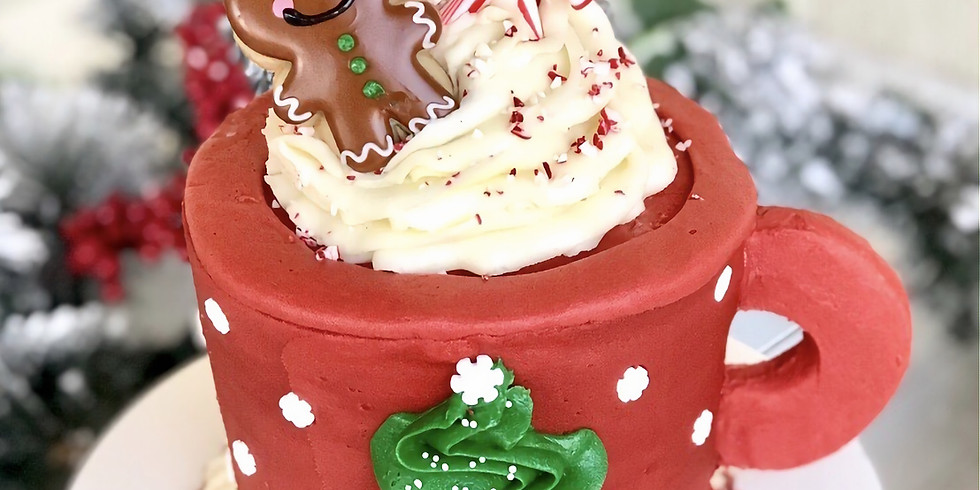 Cup of Cheer Cake Class