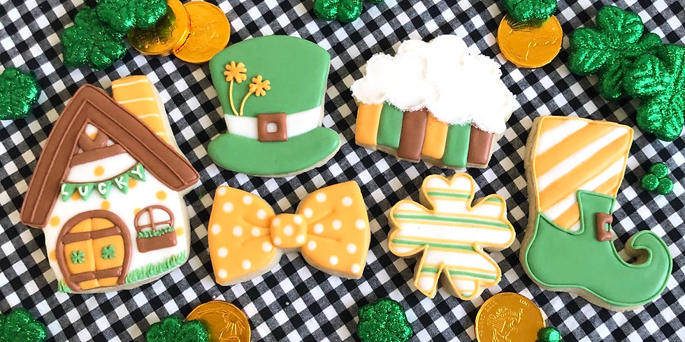 St. Patrick's Day Cookie Class #3