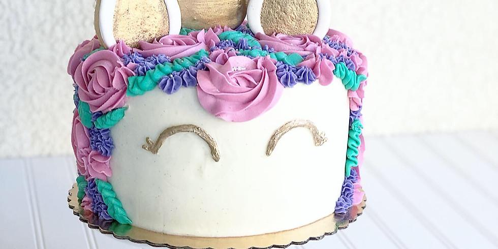 Unicorn Cake Decorating Workshop