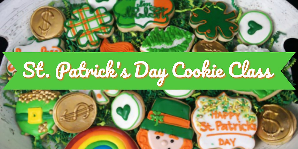 St. Patrick's Day Cookie Decorating Class 1
