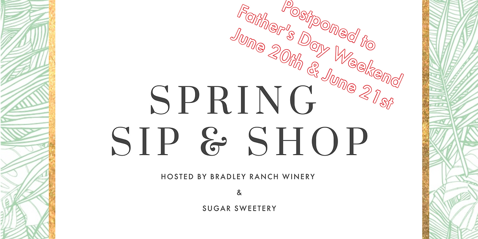 Father's Day Sip & Shop