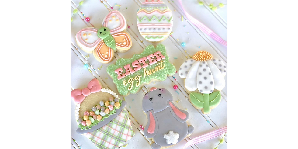 Online Easter Cookie Class