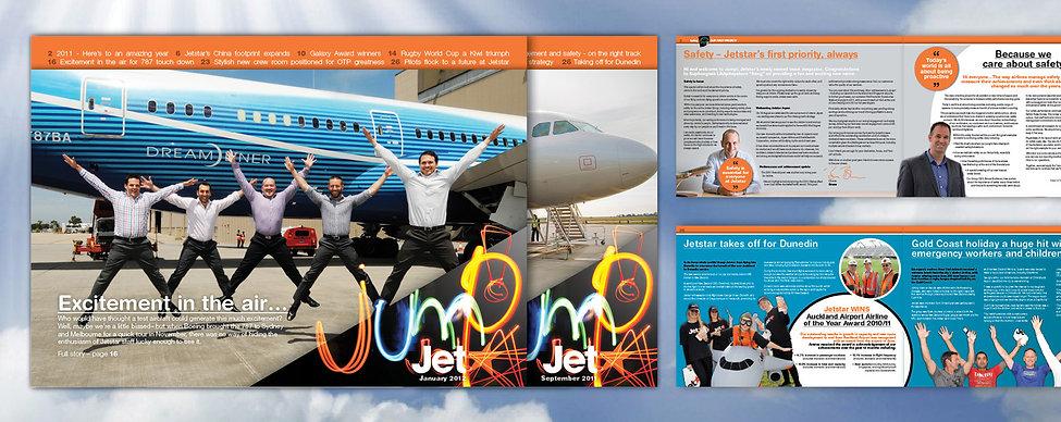 Jetstar, Jetstar Magazine, magazine design