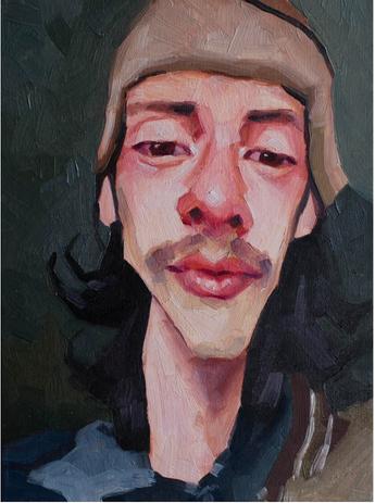 %22Self Portrait%22  Gabriel Gutierrez M