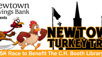 Are you excited for the Newtown Turkey Trot? WE ARE!