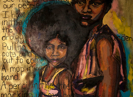 "In Celebration of Black History Month- ""To My Momma"" by Sophia Dawson"