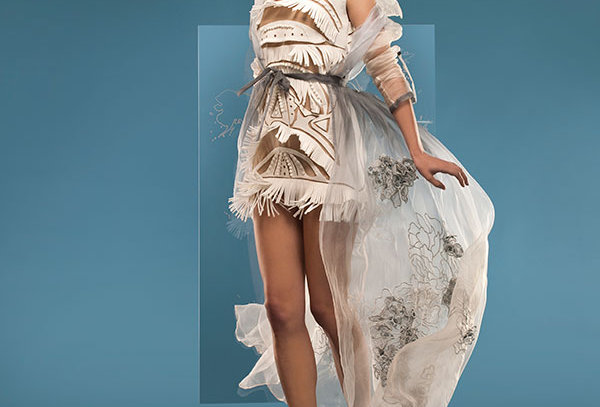 FRIZA Cut out Dress with Fringe
