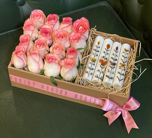 Roses and Candles combo