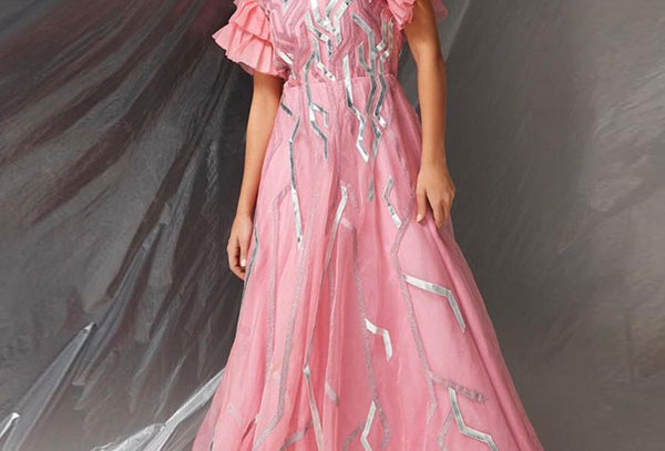 SPARKS(PK)01 Organza gown