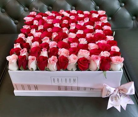 Statement century box of Roses