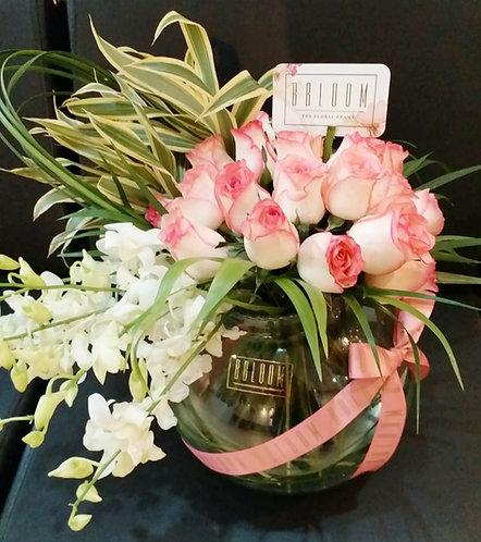 Pink Blush Vase