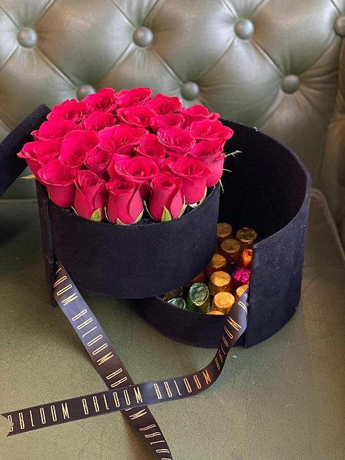 Surprise chocolate bucket box