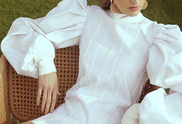 White Denim Dress - COPA (W) 01