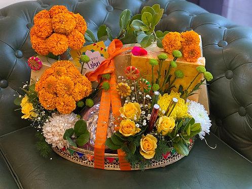 Festive Tray for Lohri