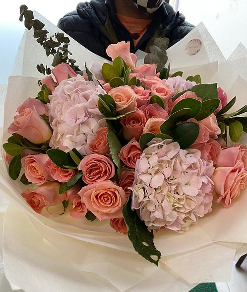 Exotic hand tied bunch
