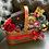 Thumbnail: Christmas Basket with Coffee