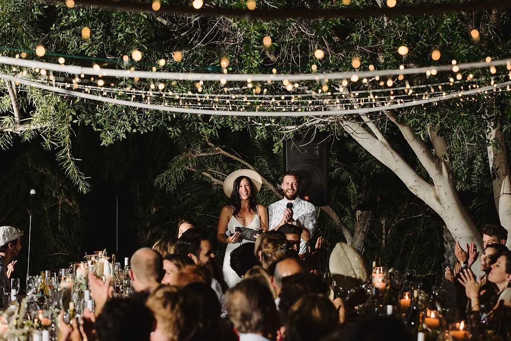 Modern Wedding Reception