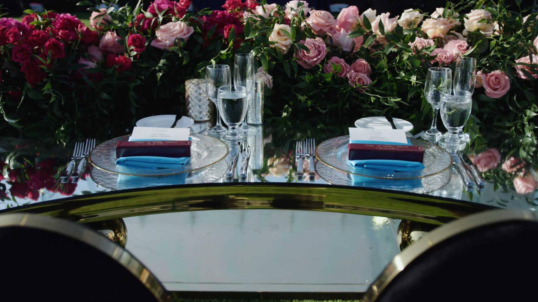 Greystone Mansion Wedding Reception