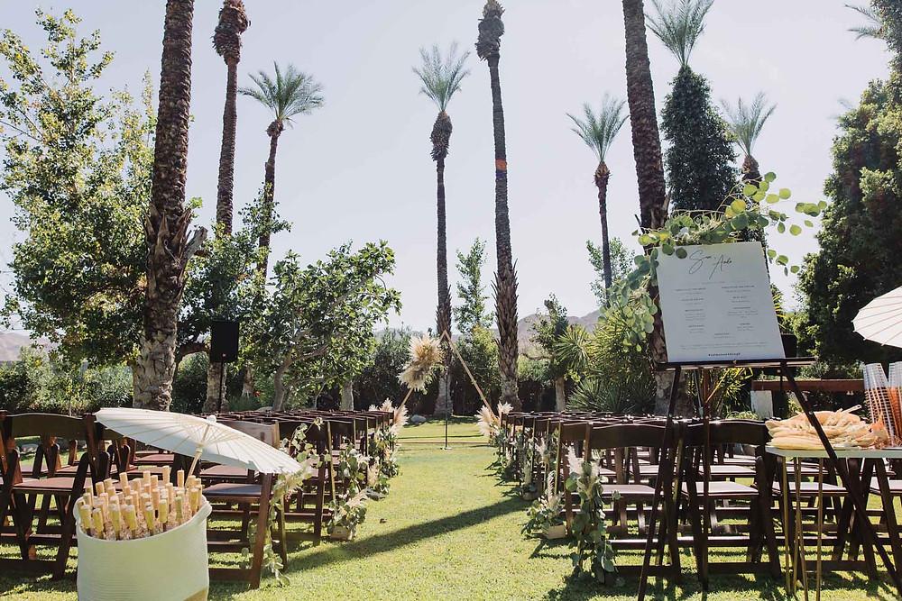 Palm Springs Cree Estate Wedding