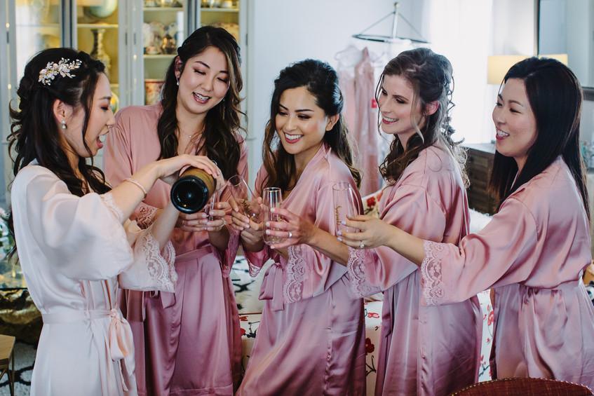 Bridesmaids Robe Photo Ideas