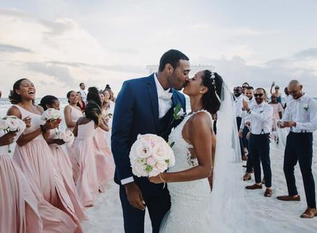 Tropical Barbados beach wedding | Kelley & Michael