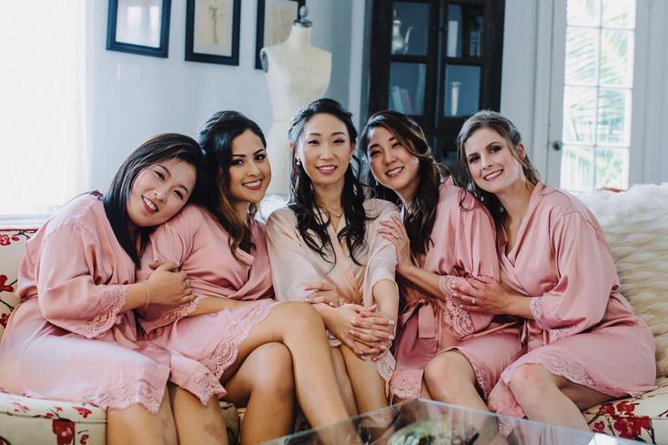 Bridesmaid Robe Photography