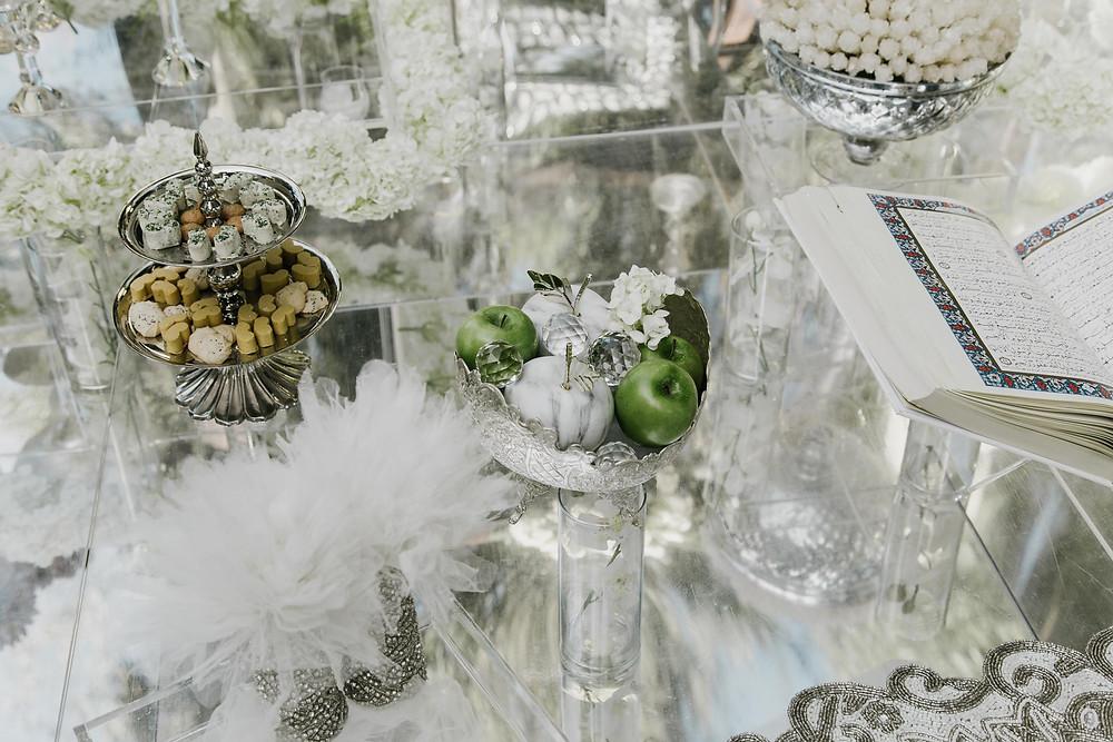 Classic Style Wedding Altar