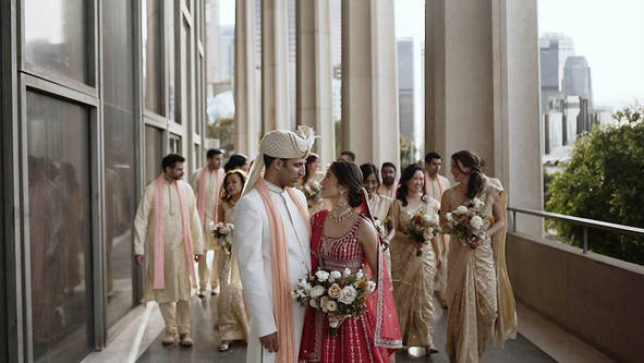 Wedding Video at Dorothy Chandler Pavilion