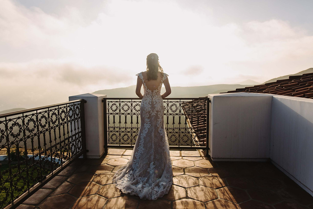 Rustic Malibu Hills Wedding