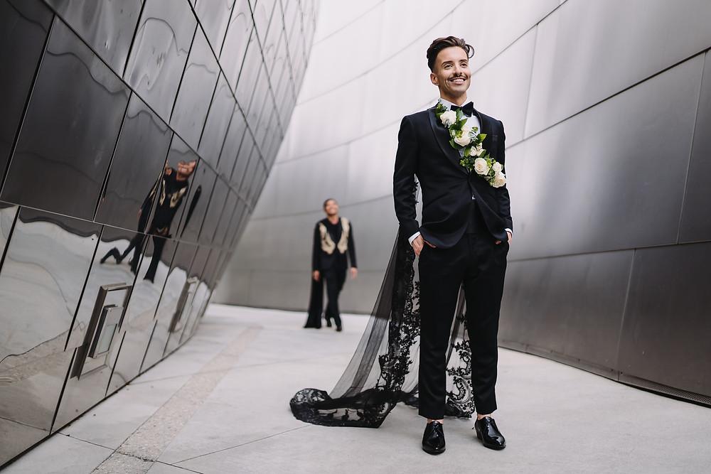 LGBTQ Modern Wedding Style