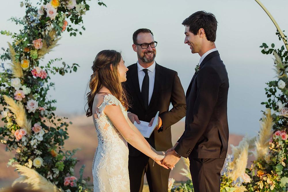 Rustic Style Intimate Wedding