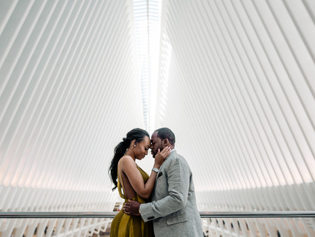 The Oculus building | NYC engagement