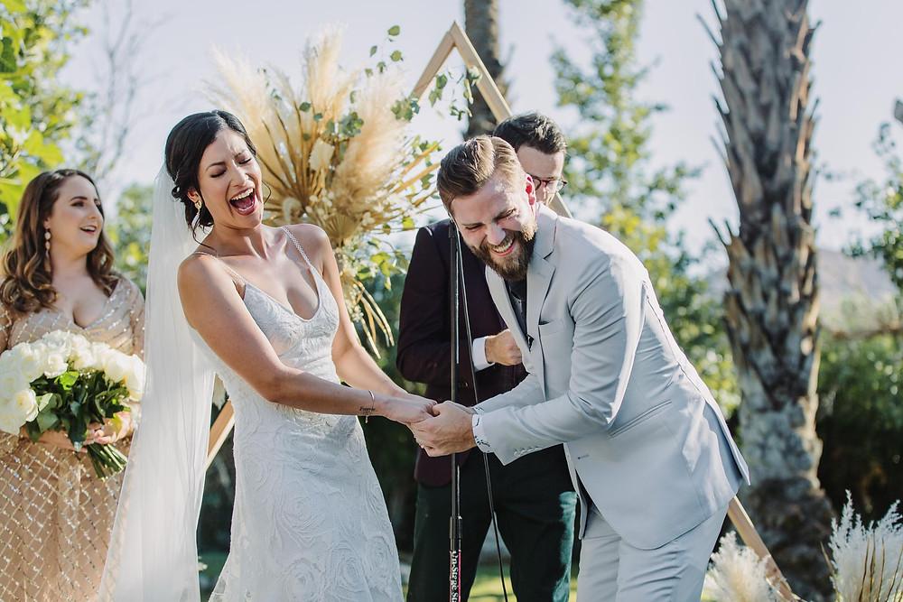 Modern Cree Estate Palm Springs Wedding