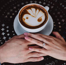 Coffee Engagement Photoshoot