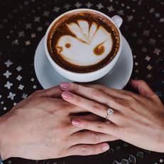 Coffee Engagement Photoshoot