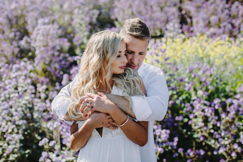 Engagement Photoshoot at Malibu Pier