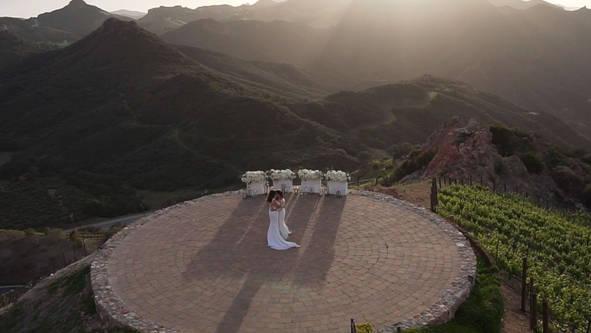 Wedding Video at Malibu Rocky Oaks