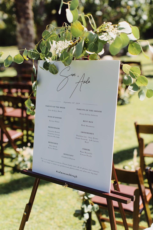 Cree Estate Palm Springs Wedding