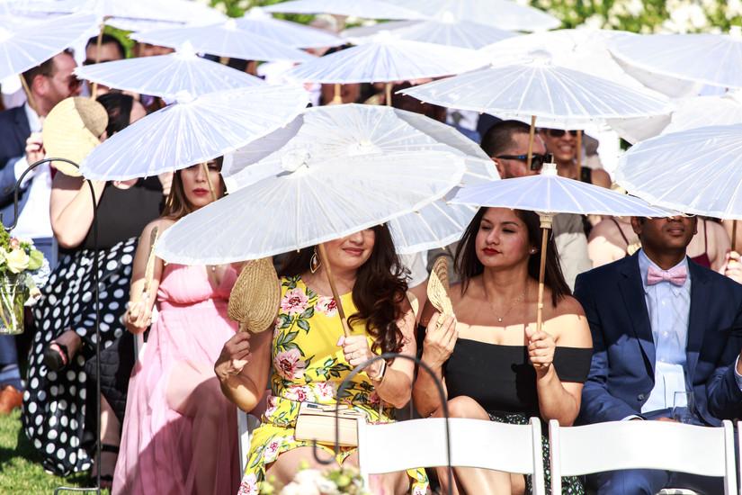 Wedding Ceremony Umbrellas