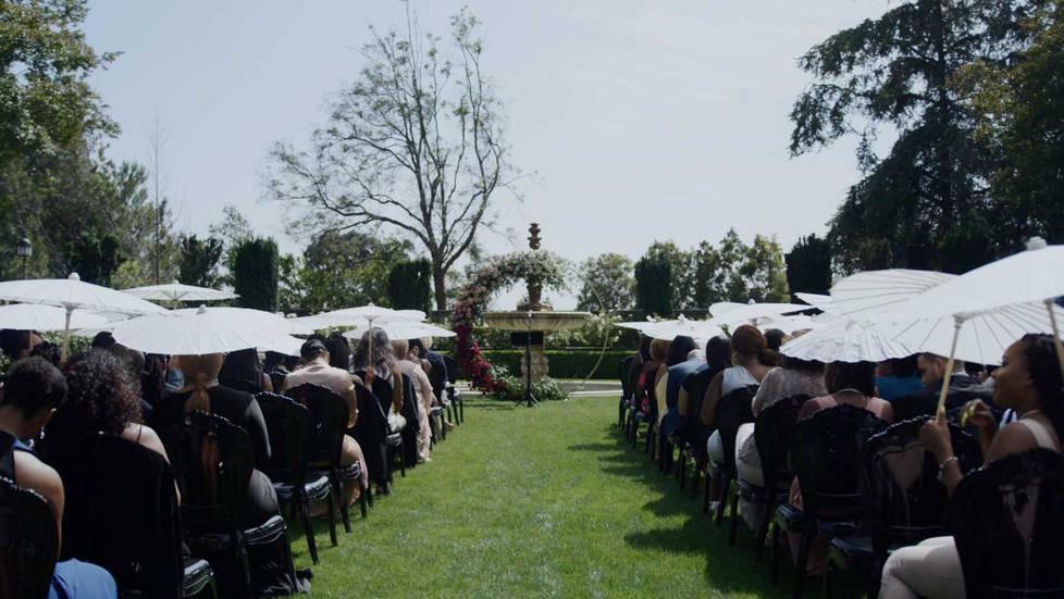 Greystone Mansion Wedding Ceremony