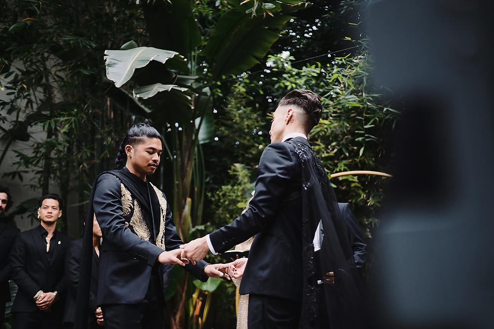 Modern Style LGBTQ Wedding In Downtown Los Angeles