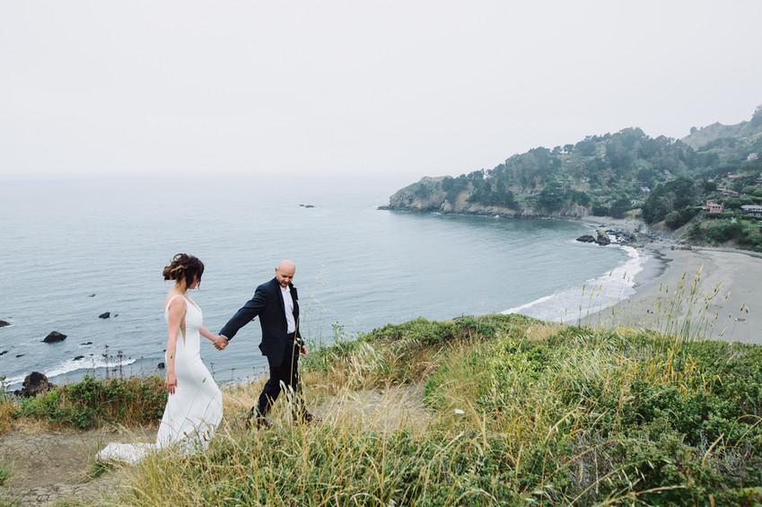 Muir Beach wedding photography